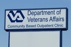 Peru - Circa May 2018: Veterans Affairs Outpatient Clinic. To bring health care closer to veterans, the VA is opening clinics I. Veterans Affairs Outpatient Stock Photography