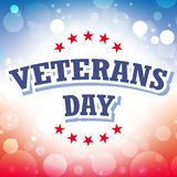 Veterans day. American background illustration Royalty Free Stock Photography