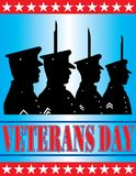 Veterans Day Background Stock Photo
