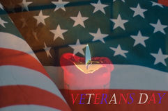 Veterans day background Royalty Free Stock Photo