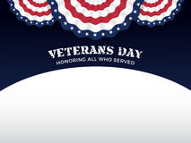 Veterans Day Background Stock Images