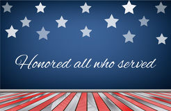 Veterans day background. Stock Images
