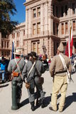 Veterans Day at the Capitol in Austin Texas Royalty Free Stock Photo