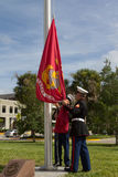 Veterans Day Ceremony Royalty Free Stock Photos