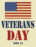 Veterans Day. Royalty Free Stock Photography