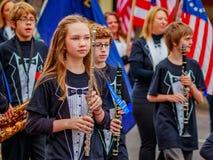 Veterans Day Parade 2016 Royalty Free Stock Photography