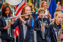 Veterans Day Parade 2016 Royalty Free Stock Photography