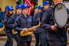 Veterans Day Parade 2016 Stock Image