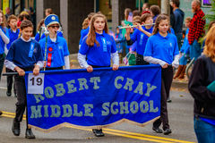Veterans Day Parade 2016 Royalty Free Stock Photo
