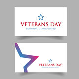 Veterans Day Usa design Stock Photography