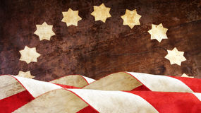 Veterans Day. Usa Flag. S on Wood Royalty Free Stock Photos