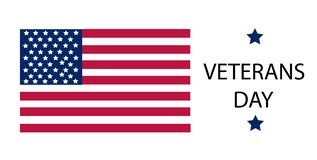Veterans day vector illustration royalty free stock photo