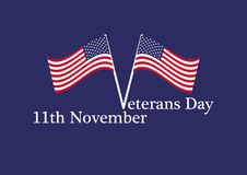 Veterans Day vector Stock Image