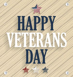 Veterans Day wooden texture background poster Stock Image