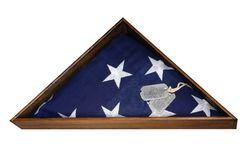 Veterans Flag Stock Photography