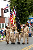 Veterans of Foreign Wars (VFW) Parade Stock Photography