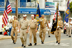 Veterans of Foreign Wars (VFW) Parade Stock Photo