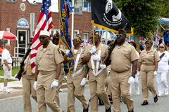 Veterans of Foreign Wars (VFW) Parade Stock Images