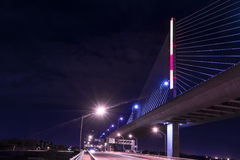 Veterans Glass City Skyway Bridge Stock Images