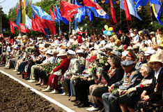 Veterans of the Great Patriotic War of 1941 - 1945. Royalty Free Stock Photos