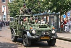 Veterans in Jeeps Stock Image