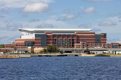 Veterans Memorial Arena in Jacksonville, Florida Stock Photography