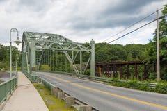 Veterans memorial bridge vermont Royalty Free Stock Image