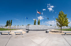 Veterans Memorial Cemetery, Fernley, Nevada Royalty Free Stock Images