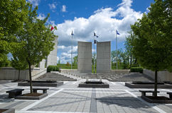 Veterans Memorial Royalty Free Stock Photo