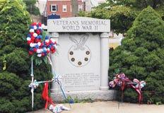 Veterans memorial site. Veterans memorial world war ll  in Royalty Free Stock Photography