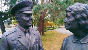 Veterans memorial victors over fascism Stock Image