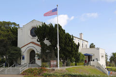 Veterans museum and Memorial center at Balboa Park in San Diego Royalty Free Stock Image