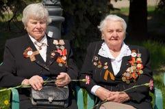 Veterans Of The World War II Stock Images