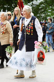 Veterans Parade - SEVASTOPOL, UKRAINE Stock Photo