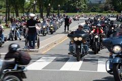 Veterans ride Royalty Free Stock Photo