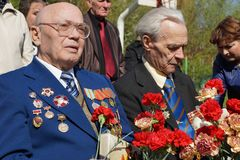 Veterans of the Second World War Royalty Free Stock Photo