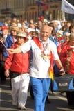 Veterans of the Soviet sports Royalty Free Stock Photos