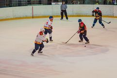 Veterans of the sport played in hockey Stock Photo
