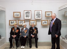 Veterans on Victory Day Royalty Free Stock Photo