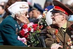 Veterans of wars Royalty Free Stock Photo