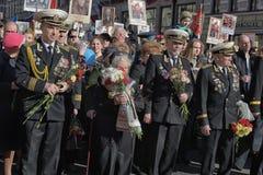 Veterans of wars Stock Image