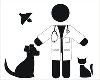 veterinär Arkivbild