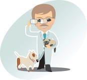 veterinär- Royaltyfria Foton