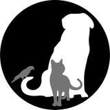 veterinär- logo Royaltyfria Foton