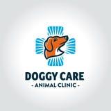 Veterinärsymbol für Tierklinik Stockbild