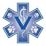 Veterinair Emergency Medical Symbol Royalty-vrije Stock Foto's