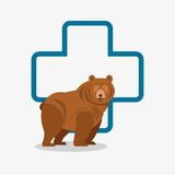 Veterinarian related icons image Stock Images