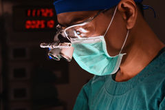 A veterinarian surgeons in operating room Royalty Free Stock Photography