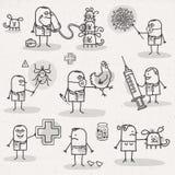veterinario ilustración del vector