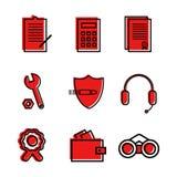 Veterinario de los iconos planos para comercial, económicos, temas de la seguridad Utilizado en el sitio, para los logotipos libre illustration